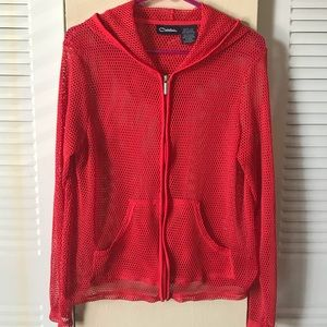 Jackets & Blazers - Vintage Catalina mesh sports hoodie
